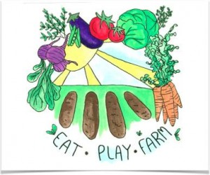 eat play farm graphic